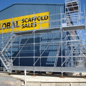 Global Scaffold Sales Demonstration